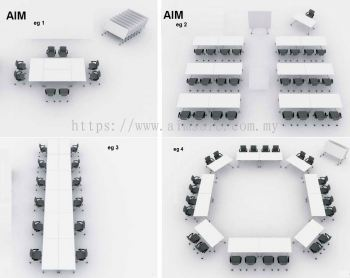 multiple table for seminar or meeting 1