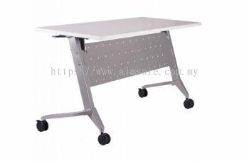Heavy duty foldable table with custor AIM1ACA