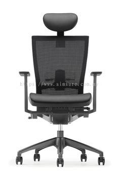 MX Presidential high back chair AIM8111N-NHB