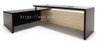 Hudson series L shape Director table AIM7HD-2A(Back view)