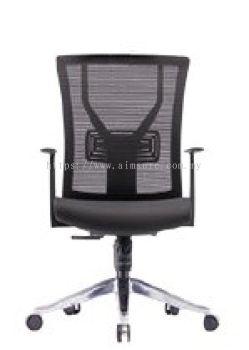 Medium back mesh chair with aluminium high base AIM-2MB-YY