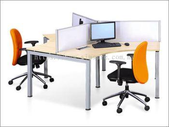 3 Pax Y Shape Desking System (AIM28-C3-1-RM)