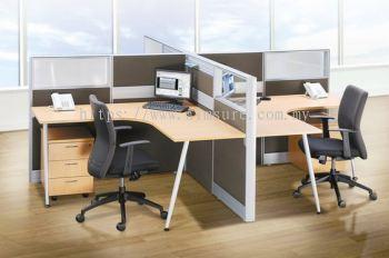 Office Workstation (AIM80-C4-1S-TW-TS)