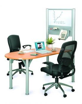 Small Discussion table 1 Pole System (AIM-PDT1-1-FS)