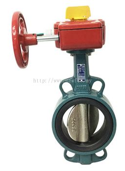 AFA Butterfly Valve c/w Tamper Switch