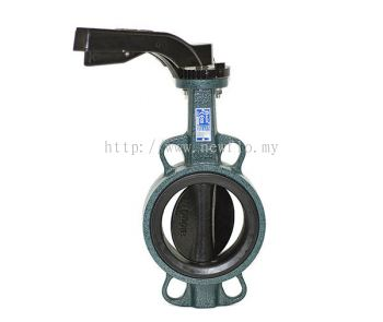 AFA Wafer Type Butterfly Valve (Hand lever operated)