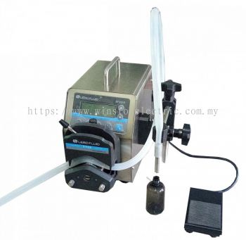 W-700PP-12 0.0001-720ml peristaltic pump liquid filling machine 12000ml / min new smart touch control