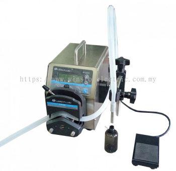 W-700PP-12 0.006-1600ml peristaltic pump liquid filling machine 12000ml / min new smart touch control