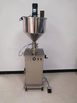 W-F700-3150 100-1000ml vertical paste piston filling machine/ explosion proof liquid filling machine