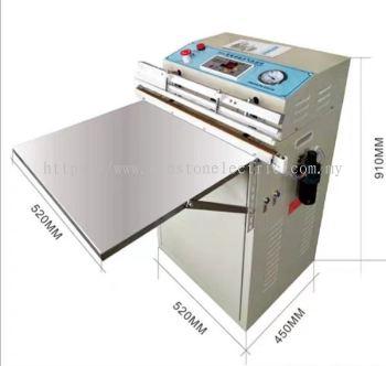 W-S730 800mm external vacuum packing machine nitrogen gas flush vacuum sealer