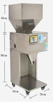 W-F700 10 -999G/10-2000G Powder Filling Machine Packing Machine For Fill Tea weight Grain Powder