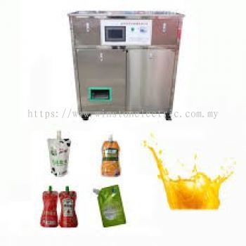 W-V160-100 50-150ml auto pouch bag fill cap machine
