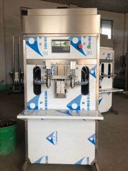 W-F700-01-10000 double nozzle flowmeter filling machine