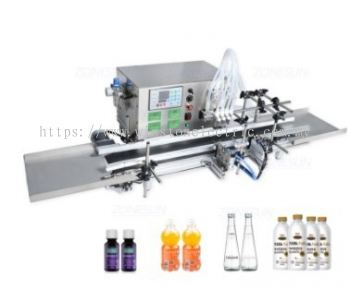 W-F700-AY2 2 nozzle Peristaltic Pump Automatic Desktop Liquid Filling Machine - 1ml to unlimited volume range