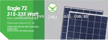 325W Solar Panel Polycrystalline Module Jinko Solar