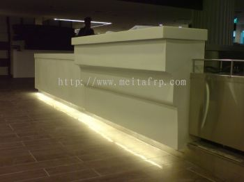 FRP FOOD COURT COUNTER