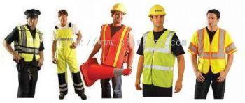 Safety Vast and Raincoat