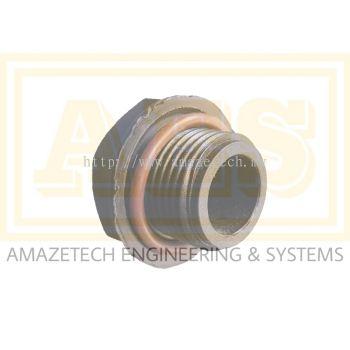 Oil Drain Plug c/w O-Ring RA 0025