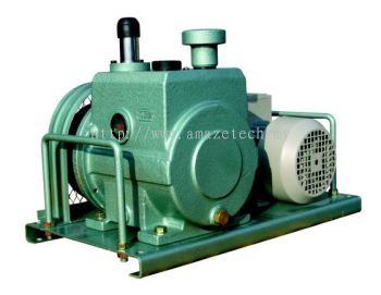 Woosung Oil Rotary Vane Vacuum Pump (Belt Type) WSVP 9060