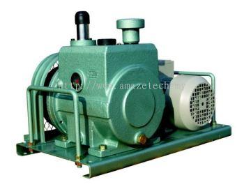 Woosung Oil Rotary Vane Vacuum Pump (Belt Type) WSVP 9018