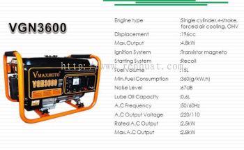 Vmaxmoto Generator