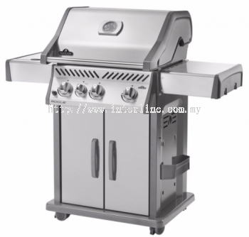 Napoleon Rogue® 425 SIB (Stainless Steel) with Infrared Side Burner Gas BBQ Grill