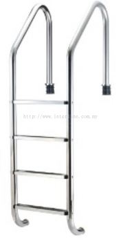Jakmax 4 Step S.Steel 304 Ladder with Plastic Foot