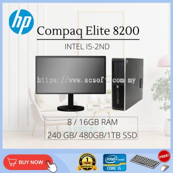 HP Compaq 8200 SFF Desktop Full Set / Core i5-2nd