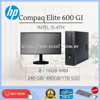 HP Prodesk 600 G1  SFF Desktop Full Set / Core i5-4th