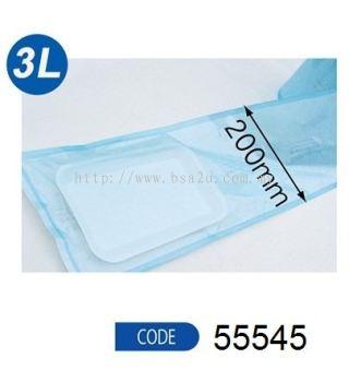 Sterilization Pouches (Reel) Size 3L - 200mm (Code 55545)