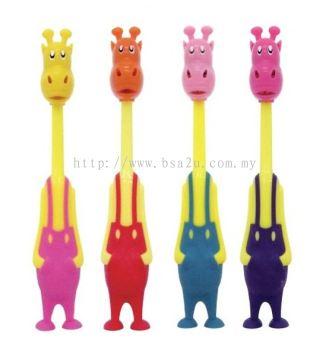 Giraffe Toothbrush (Code 14221-14224)