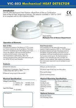 VIC-803 Heat Detector