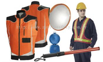Safety Vest & Traffic Control Equipments