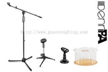 MIC STANDS & ACCESSORIES