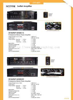 Nestpro & Swift Amplifier