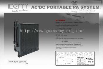 AC DC Portable PA System