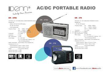 ACDC Portable Radio