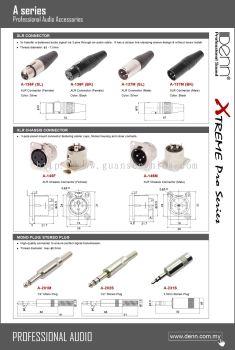 PA & Karaoke Plugs