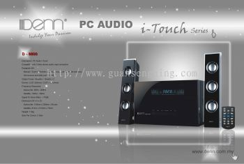 2.1 PC Audio (i-Touch Series)