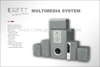 PC Audio Multimedia System