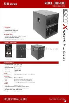 Professional Audio (PA) System - XTREME PRO Series