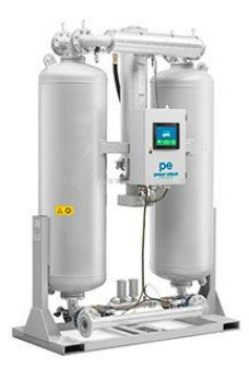 PE heated desiccant dryers
