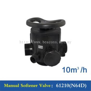Manual Softener Valve - F64D , 2""