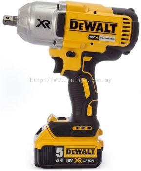 DCF899HP2 DeWalt XR 18V Brushless High Torque Wrench (Hog Ring)