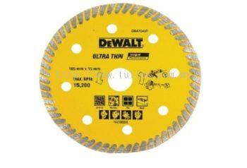 "DW 4724 Dewalt 4"" (105 X 2.0 x 16mm) diamond blade (turbo)"