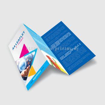 Leaflet A4 2 fold