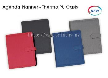 Diary 2019 Agenda Planner Thermo PU Oasis