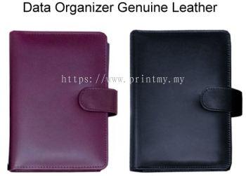Data Organizer Genuine Leather