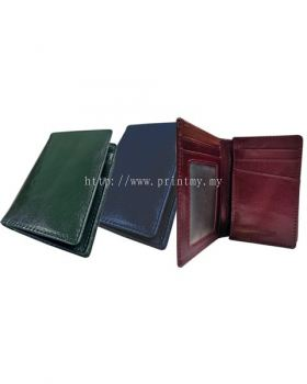 Leather Collapsible Card Holder