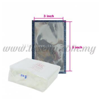 """Thailand OPP Plastic 3"""" x 5"""" 1pack *1kg (PB-OPP35)"""